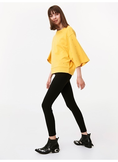 Twist Sweatshirt Sarı